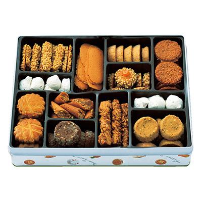 「メゾンドプティフール」クッキー缶