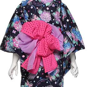 女の子の浴衣「メゾピアノ」帯