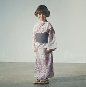 女の子の浴衣「マールマール」