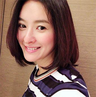 40代モデルのヘアスタイル「秋本祐希」さん」