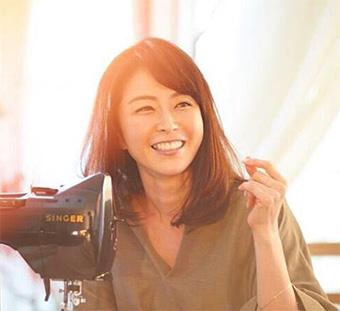 40代モデルのヘアスタイル「松井美緒」さん