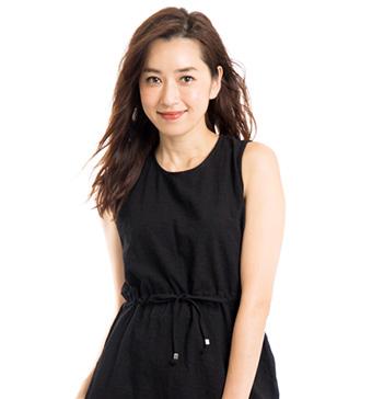 40代モデルのヘアスタイル「仁香」さん