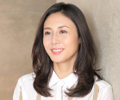 40代女優の髪型「松嶋菜々子さん」01
