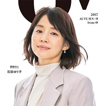 40代女優の髪型「石田ゆり子さん」01