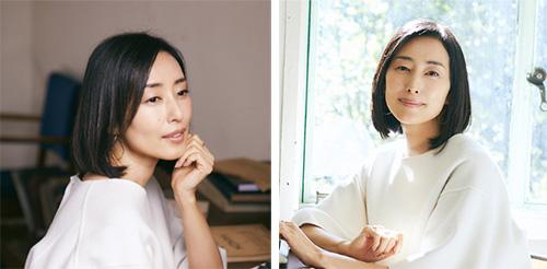 40代女優の髪型「木村多江さん」01