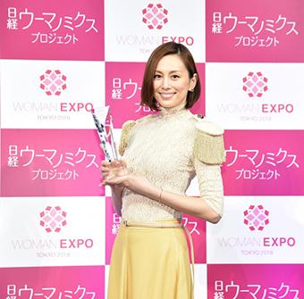 40代女優の髪型「米倉涼子さん」02