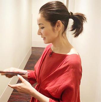 40代女優の髪型「吉田羊さん」02