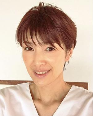 40代女優の髪型「吉瀬美智子さん」01