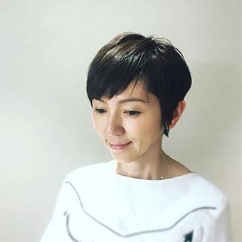 40代女優の髪型「渡辺満里奈さん」01