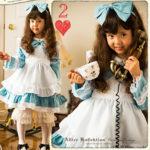 ハロウィンに♪アリスのかわいい子供用ワンピース・ドレスセットをピックアップ