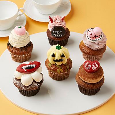 ハロウィンのカップケーキ(サリーズカップケーキ))