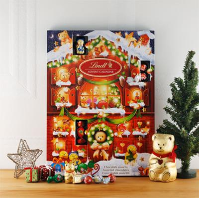 2019クリスマスアドベントカレンダー「リンツ」