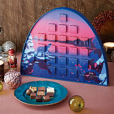 2019クリスマスアドベントカレンダー「メゾンデュショコラ」