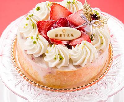 クリスマスのアイスケーキのおすすめ「銀座千疋屋」02