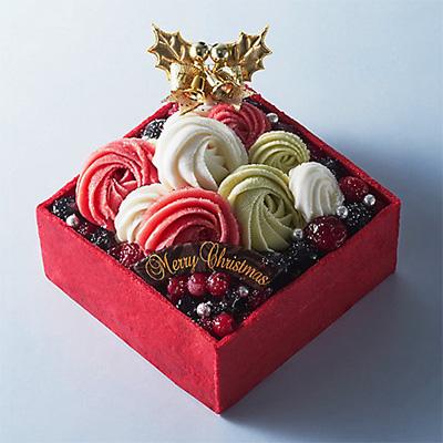 クリスマスのアイスケーキ「マリオジェラテリア」021
