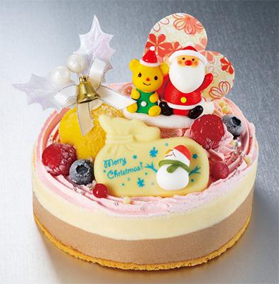 クリスマスのアイスケーキ「レーブドゥシェフ」