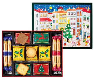 クリスマスパッケージのお菓子・手土産「ヨックモック」