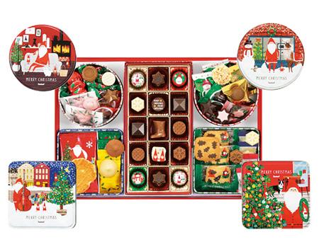 クリスマスパッケージのお菓子・手土産「ゴンチャロフ」