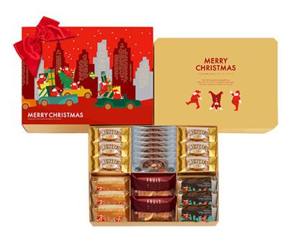 クリスマスパッケージのお菓子・手土産「グラマシーニューヨーク」
