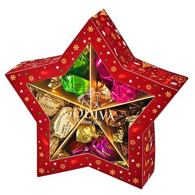 クリスマスパッケージのお菓子・手土産「ゴディバ」