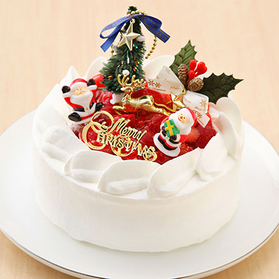 クリスマスショートケーキ「パティスリーラヴィアンレーヴ」