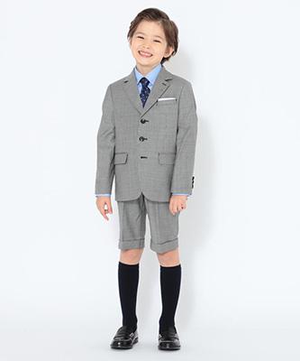 「こどもビームス」男の子のセレモニースーツ01