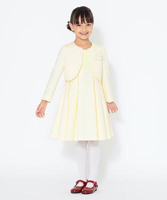 「こどもビームス」女の子のセレモニースーツ01