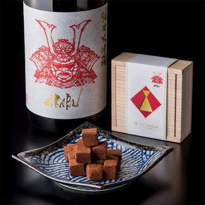 日本酒入りチョコレートおすすめ「シルスマリア」