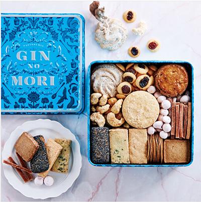缶入りクッキーのおすすめ「gin no mori」