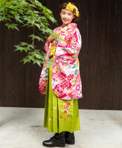 卒服ジュニア袴のおすすめ「ROBE」