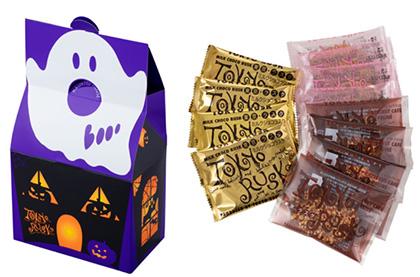 2020年ハロウィン限定パッケージのお菓子「東京ラスク」02