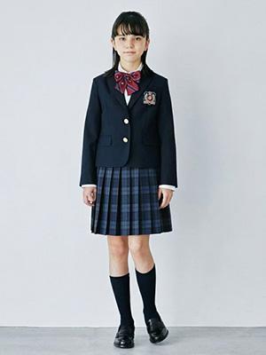 2021年「グリーンレーベル」卒服コーデ01