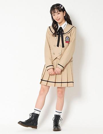 2021年「ラブトキ」卒服コーデ01