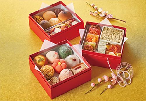 2021スイーツおせち和菓子「恵那川上屋」