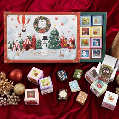 2020年クリスマスアドベントカレンダー「カフェオウザン」
