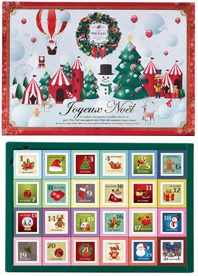 2020年クリスマスアドベントカレンダー「カフェオウザン」02
