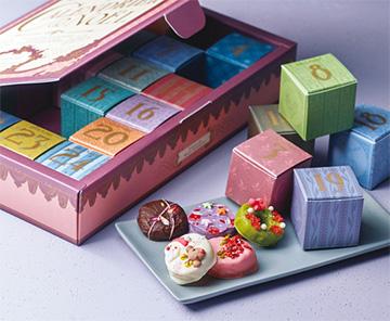 2020年お菓子のアドベントカレンダー「ラトリエモネイ」03