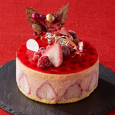 クリスマスのアイスケーキ「ルタオ」01