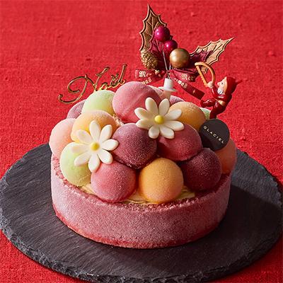 クリスマスのアイスケーキ「ルタオ」02