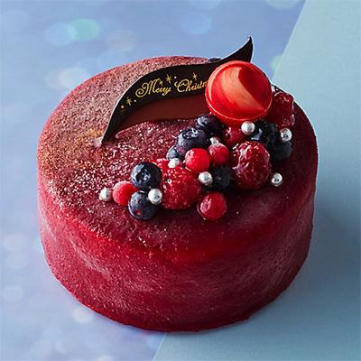 クリスマスのアイスケーキ「マリオジェラテリア」02