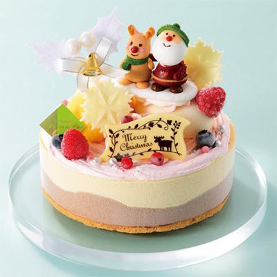 クリスマスのアイスケーキ「レーブドシェフ」