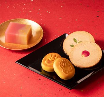お年賀干支のお菓子おすすめ「鶴屋吉信」02