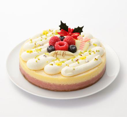 クリスマス限定チーズケーキ「パパジョンズ」