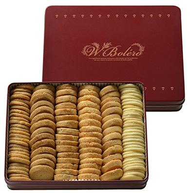 「ボレロ」のクッキーアソート缶