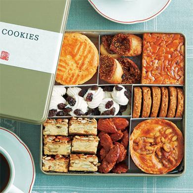 缶入りクッキーのおすすめ「玄妙庵 ナッツ