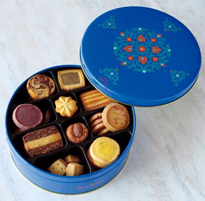 缶入りクッキーのおすすめ「奈良ホテル」