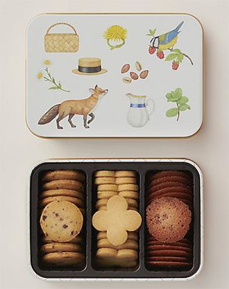 缶入りクッキーのおすすめ「ポモロジー」