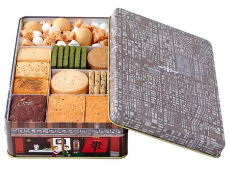 缶入りクッキーのおすすめ「米村」