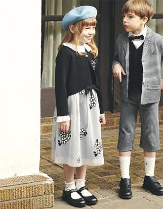 女の子の入学式スーツ・ワンピースおすすめ「アニエスベー」01