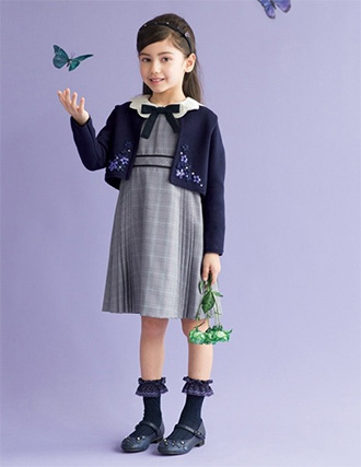 女の子の入学式スーツ・ワンピースおすすめ「アナスイミニ」01